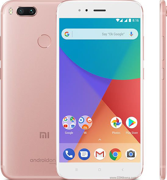 Smartphone Xiaomi Mi A1 4GB Ram Tela 5.5 64GB Camera Dupla 12+12MP - Rose