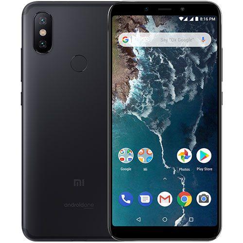 Smartphone Xiaomi Mi A2 4GB Ram Tela 5.99 64GB Camera Dupla 12+20MP - Preto