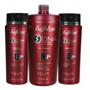 Agi Max DNA Inteligente Escova Progressiva Sem Formol Kit