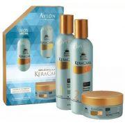 Avlon KeraCare Kit Dry Itchy Shampoo e Condicionador 2x475ml e Máscara 180g