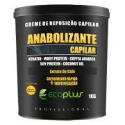 Ecoplus Creme De Reposição Anabolizante Capilar 1kg