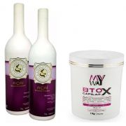 Eternity Liss Escova Progressiva Açai 2x1000l + Botox My Way Bb Cleam 1kg