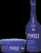 Manga Rosa Shampoo e Máscara Matizadora Purple Line