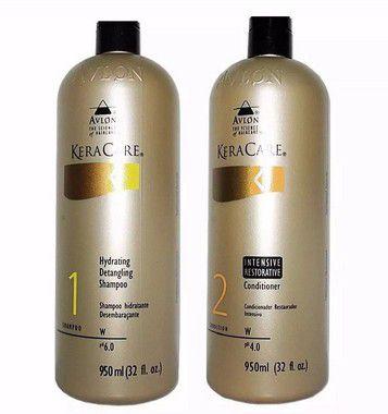 Avlon Keracare Shampoo Detangling + Condicionador Intensive 950ml