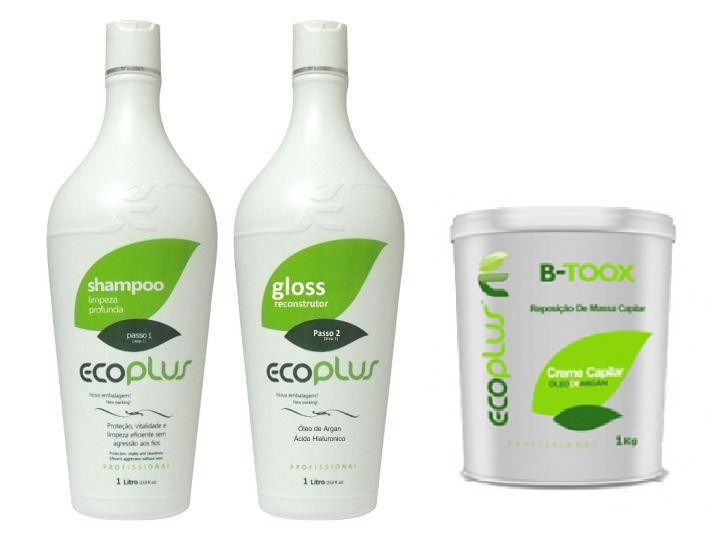 Ecoplus Escova Progressiva Defininitiva + Botox Kit