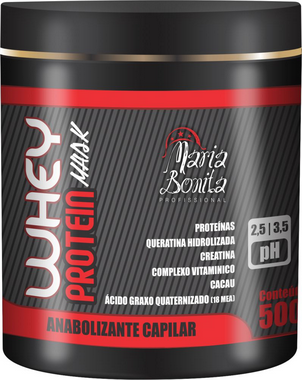 Maria Bonita Whey Protein Anabolizante Capilar 500g
