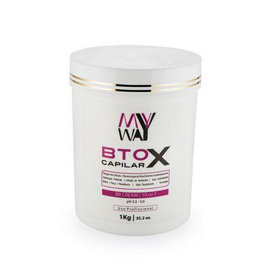 My Way Botox Capilar 10 em 1 Sistema BB Cream 1kg