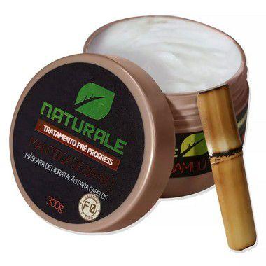 Naturale Manteiga de Bambú F-0 Pré Progress Máscara de Hidratação