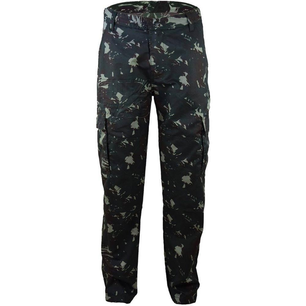 Calça Tactel Militar Ideal para o combate do dia a dia tecido flexível e bem estampado