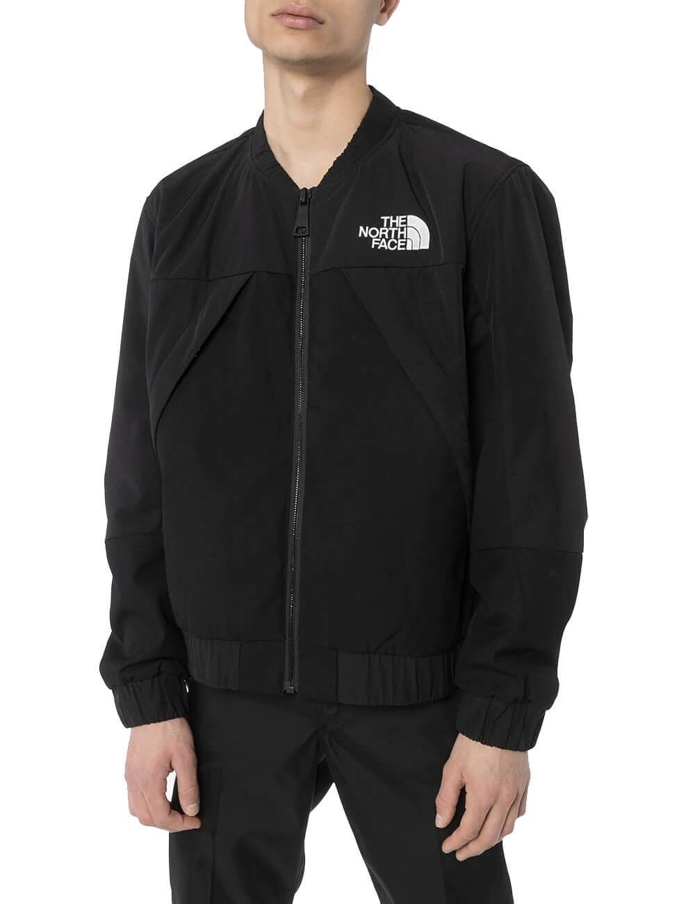 Jaqueta com capuz e estampa