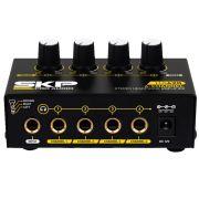 Amplificador Para Fones De Ouvido 4 Canais Skp Ha-420 4ch