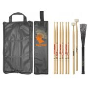 Kit Bag Com01 + Set Baquetas Gospel Liverpool