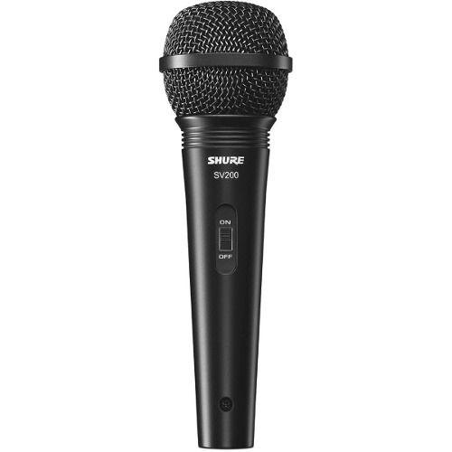 Microfone Vocal Profissional com fio Shure Sv200