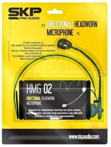 Microfone Headset Profissional Headworn Skp Hmg 02