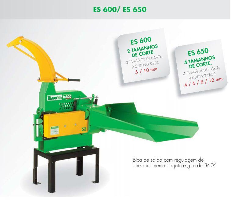 Picadeira Ensiladeira Sem Motor Trapp ES 600