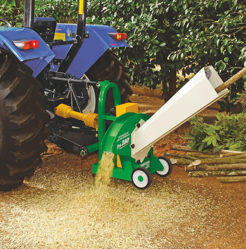 Triturador De Galhos com acoplamento P/ Trator Trapp TRR 280
