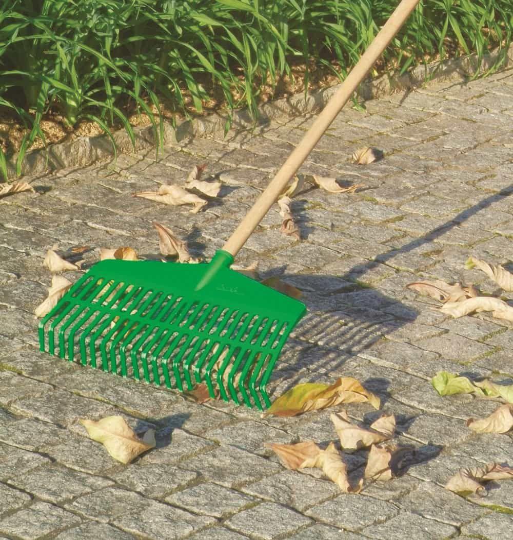 Vassoura Ancinho Verde Com Cabo Trapp Fj 1026