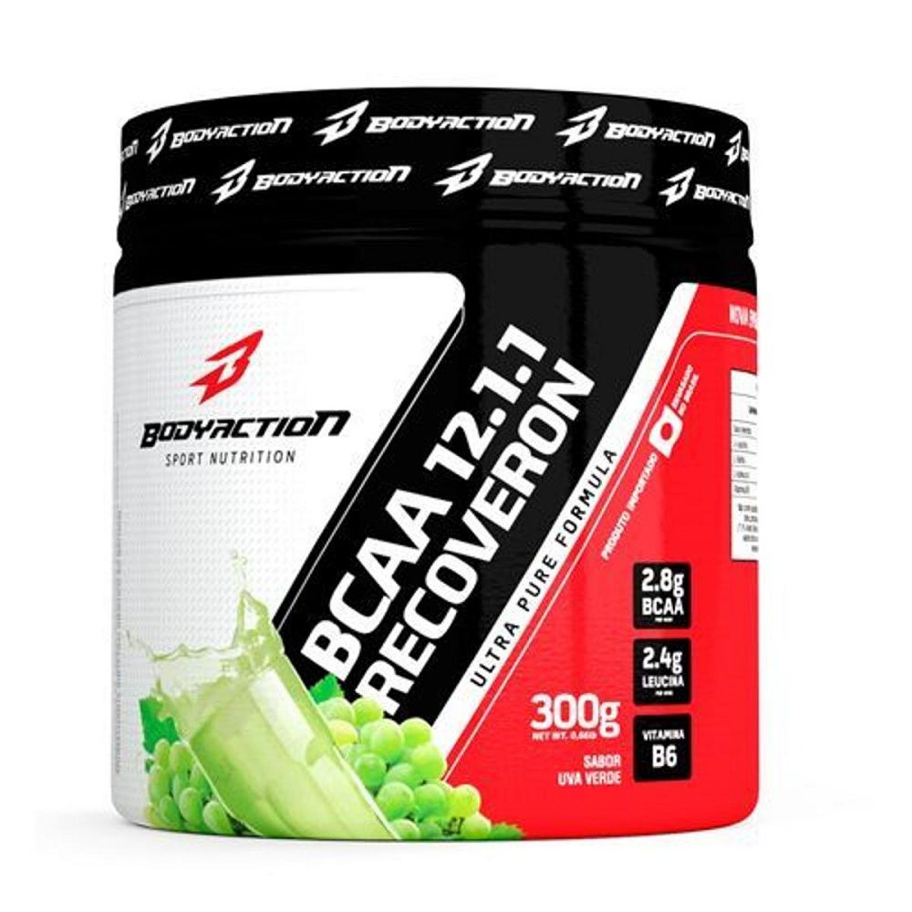 BCAA 12:1:1 - 300GR - BODY ACTION Uva Verde