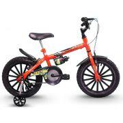 Bicicleta Track Bikes Dino Neon Infantil Aro 16