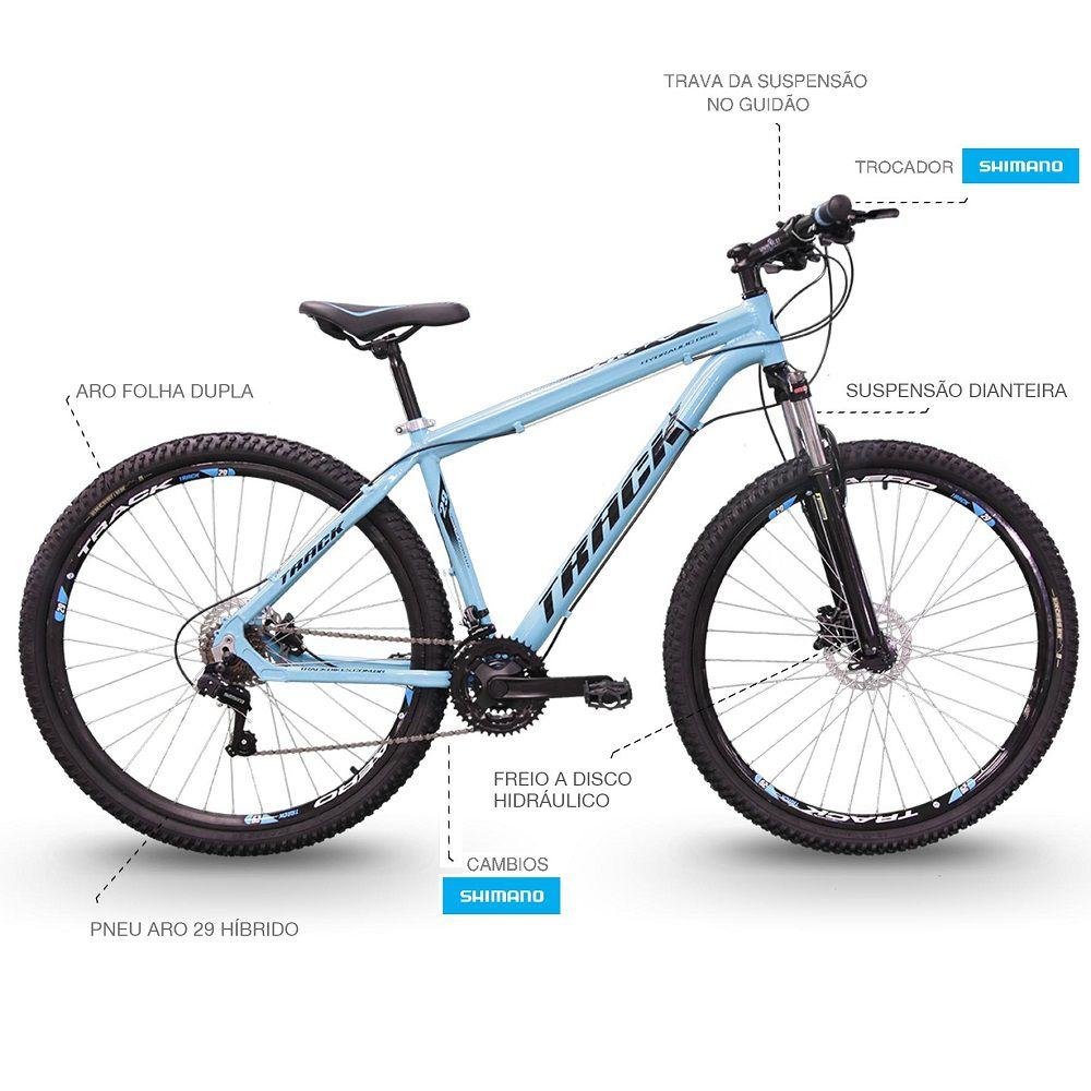 Bicicleta Track Bikes TB Trivo Adulto Aro 29