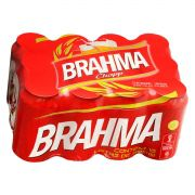 CERVEJA  BRAHMA Caixa com 12 - 350ml