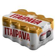 CERVEJA ITAIPAVA - caixa com 12 latas - 350ml