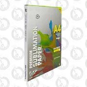 Papel Sublimático 500 Folhas A4 Globinho + Fita Térmica