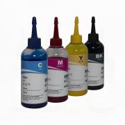 4 Unidades de 100ml Tinta Pigmentada Epson Inktec - Kit 4 cores - L120 L355 L365 L375 L380 L395 L396