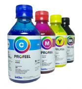 4 Unidades de  250ml Tinta Pigmentada Hp Inktec Pro 8600 8610 8620 8720