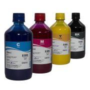 4 Unidades de  500ml Tinta Pigmentada Hp Inktec 6970 8600 8610 8710 8720 H8940