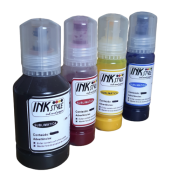 4 Unidades Tinta Epson Sublimatica L3110 L3150 L4150 Inkstyle - Black 127ml  Color idade 70ml Kit 4 Cores