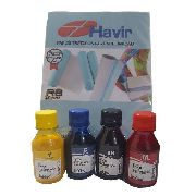 4 X 100ml Tinta Sublimatica Inktec +100 Papel Havir A4 110g