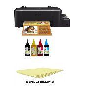 Impressora Função Única  L120 A4  Com Tinta Sublimatica + 500 Folhas A4 Sublimatica