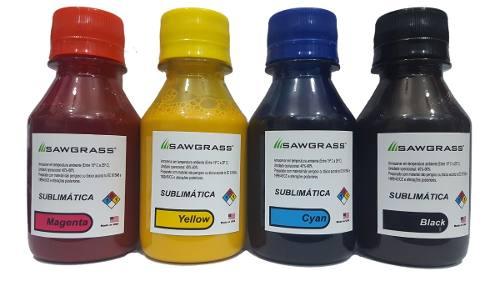 4 X 100ml Tinta Sublimatica Sawgrass L120 L380 L395 L396