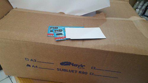 Papel Para Sublimação A4 Fundo Azul Havir 500 Folhas 110g