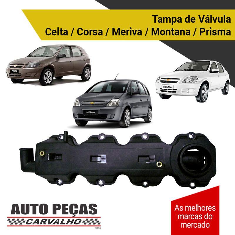 Tampa de Válvula - Celta / Corsa / Meriva / Montana / Prisma (todos os modelos)