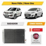 Condensador Novo Pálio / Uno - Denso