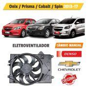 Eletroventilador GM Onix, Prisma, Cobalt, Spin Manual - Denso