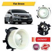 Motor Ventilação Interno Fiat Bravo com Ar Digital e Resistência Eletrônica - Denso