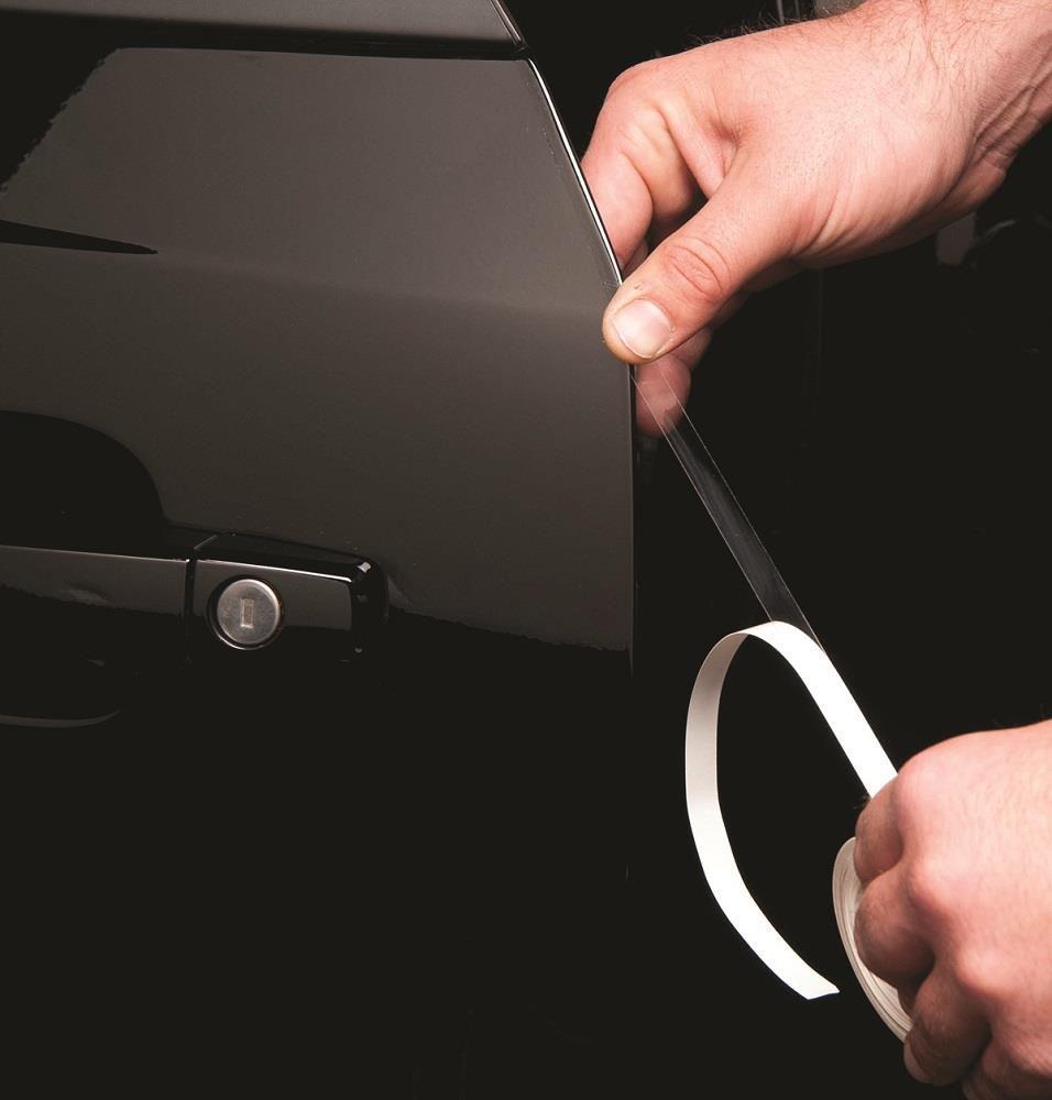 Adesivo proteção de pintura PPF Automotivo Anti-risco Canto de Porta - Antichip