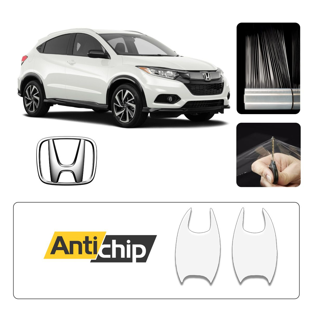 Película Protetora de Pintura Maçaneta Honda HRV - Antichip