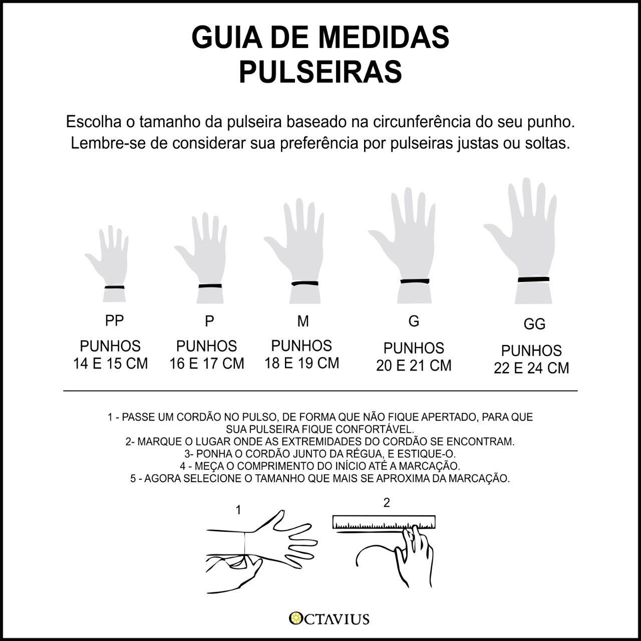 PULSEIRA LUVA PRATA 925 + SOL + ÔNIX
