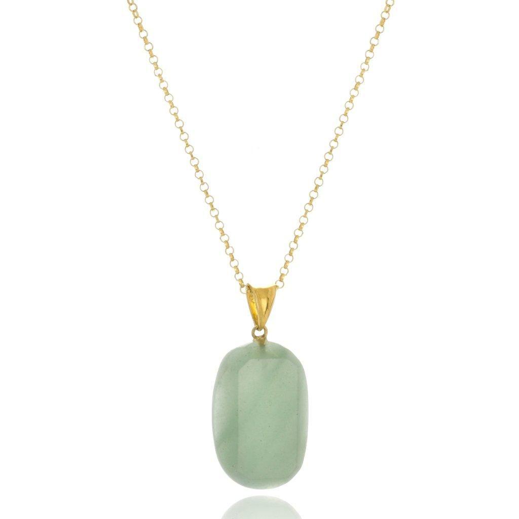 Colar Le Diamond Quartzo Verde