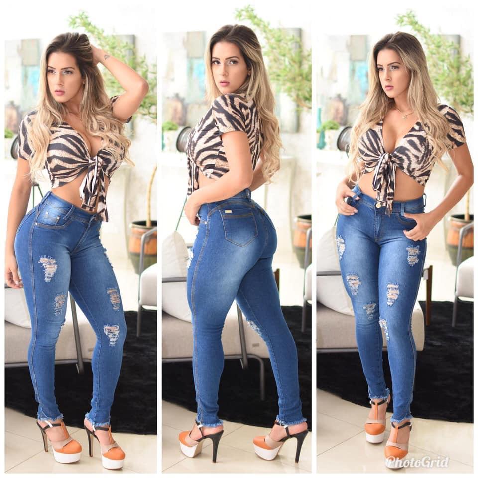 Calça jeans skiny   - BE HAPPY MODA FEMININA