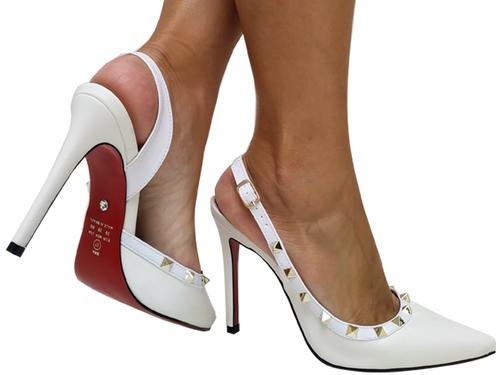 Chanel np branco salto 11cm Cód.670
