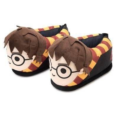 Pantufa Harry Potter 3d Solado Emborrachado Hogwarts