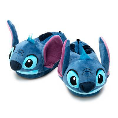 Pantufa stitch 3D orelhinha azul disney ricsen