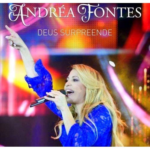 CD - Andrea Fontes - Deus Surpreende