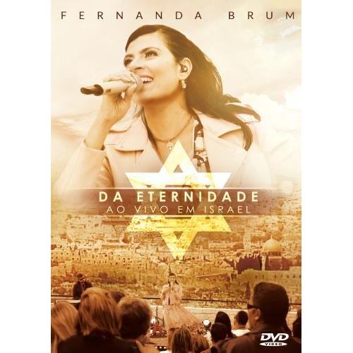 DVD - Pra. Fernanda Brum Ao Vivo em Israel