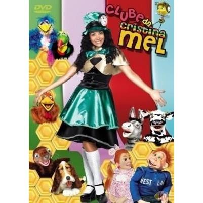 DVD - Cristina Mel - Clube da Cristina Mel
